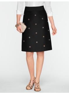 Faille Bead & Sparkle Skirt