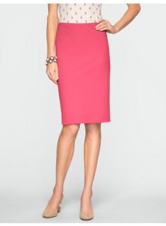 Cotton Bi-Stretch Pencil Skirt
