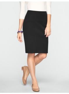 Curvy Cotton Bi-Stretch Pencil Skirt