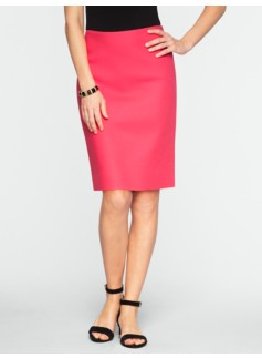 Cavalry Twill Pencil Skirt