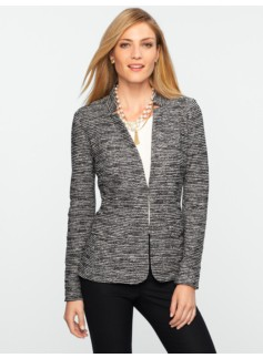 Berkeley Tweed Knit Jacket