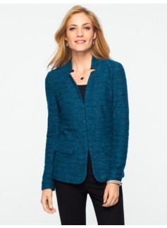 Berkeley Tweed Knit Jacket