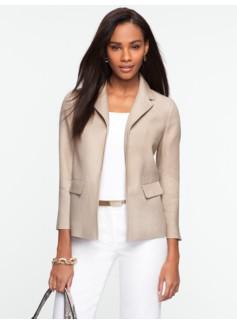 Linen No-Close Jacket