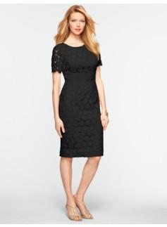 Geo-Lace Dress