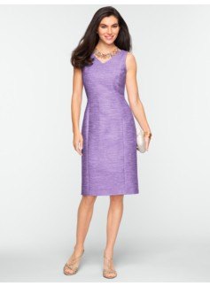 Bethany Tweed V-Neck Dress