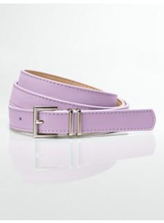Leather Double-Keeper Belt