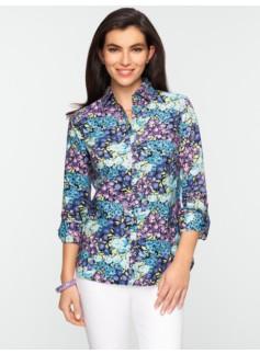 Whimsical Floral Shirt