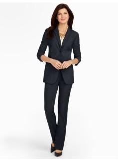 Seasonless Wool Two-Button Jacket