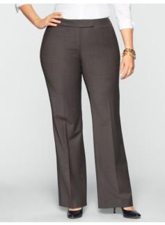 Signature Seasonless Wool Wide-Leg Pants
