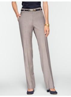 Curvy Empire Pinstripe Bootcut Pants