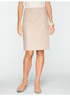 Cotton Viscose Pencil Skirt