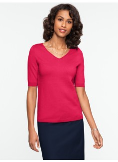 Refined V-Neck Sweater