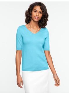 Refined V-Neck Sweater