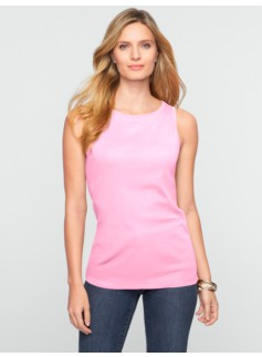 Pima Cotton Boatneck Tank