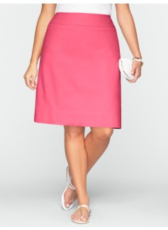 Canvas A-Line Skirt