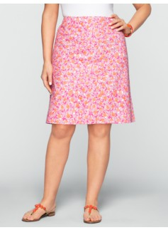 Almond-Print Skirt