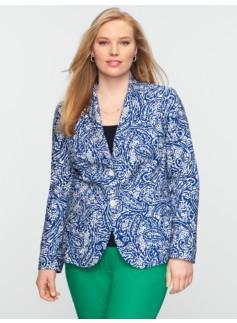Paisley Batik Blazer