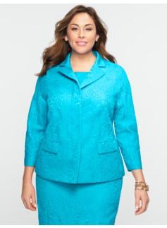 Paisley Matelass� Jacket