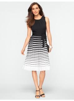 Variegated Stripe Dress