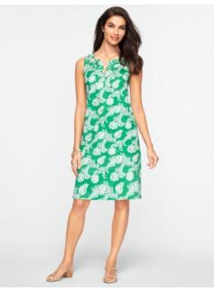 Beaded Swirling-Fern Dress