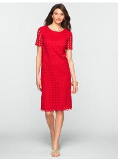 Circle Eyelet Dress
