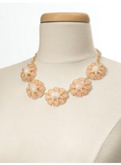 Florette Cabochon Necklace