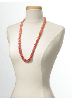 Delicate Bead Multi-Strand Necklace