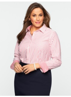 Wrinkle Resistant Equinox-Stripe Shirt
