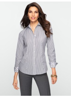 Wrinkle Resistant Bengal-Stripe Shirt