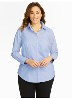 Wrinkle Resistant End-On-End Shirt