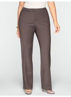 Heritage Seasonless Wool Straight-Leg Pants
