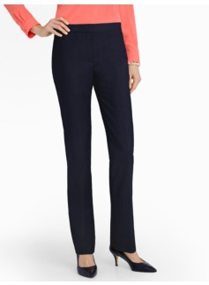 Heritage Seasonless Wool Straight-Leg Pants