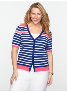 Avenue-Stripe Sweater