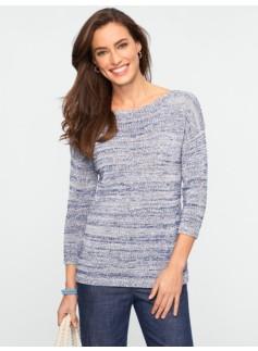 Marled Boatneck Sweater
