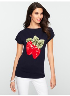 Strawberry Dolman Sweater