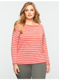 Weekender Striped Roll-Neck Sweater