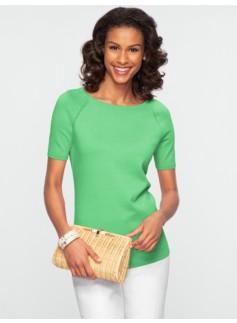 Modern Silk-Blend Sweater