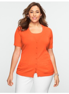 Kelly Short-Sleeve Cardigan