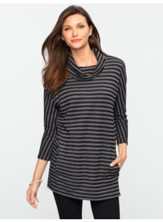 Double-Faced Stripe Top