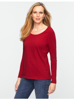 Zip-Shoulder Tee