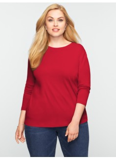 Pima Cotton Long-Sleeved Tee