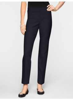 Signature Ultimate Double-Weave Tailored Ankle Pants