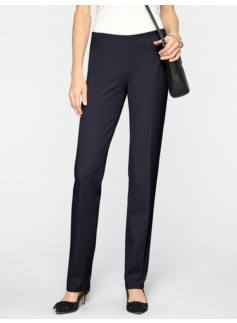 Signature Refined Bi-Stretch Side-Zip Pants