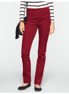 Slimming Heritage Straight-Leg Cords