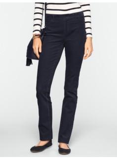 Slimming Heritage Straight-Leg Cords