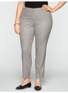 Heritage Check Ankle Pants