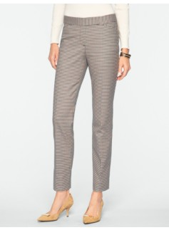 Signature Check Ankle Pants
