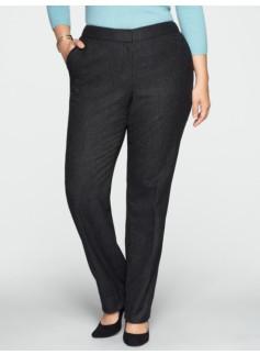 Curvy Pindot Pants