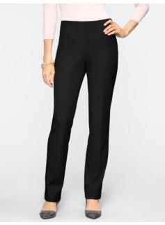 Curvy Refined Bi-Stretch Side-Zip Pants