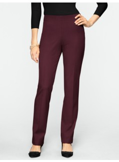 Curvy Refined Bi-Stretch Zip Pants